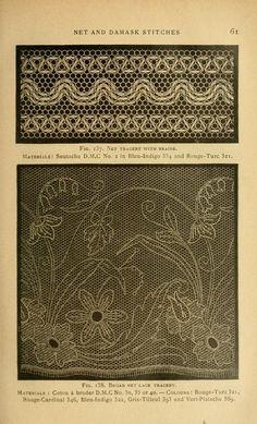 Tul Brodat  Encyclopedia of needlework