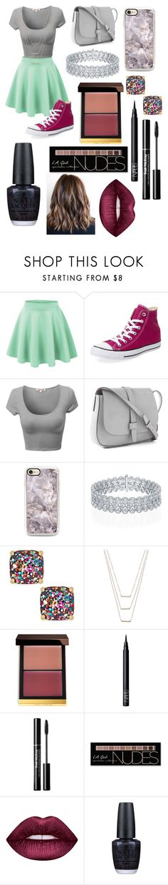 """Untitled #441"" by peanut03411 ❤ liked on Polyvore featuring Converse, Gap, Kate Spade, ERTH, Tom Ford, NARS Cosmetics, Charlotte Russe, Lime Crime and OPI"