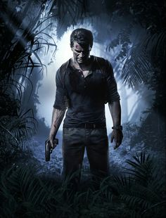 Finally the day has come, The Uncharted 4 : A Thief's end is finally released. The Game is set three years after the Uncharted Nathan Drake (The main star of the uncharted series) has apparently left the world of fortune hunting behind. Nathan Drake, Drake E, Playstation Games, Ps4 Games, Playstation Portable, Dark Souls, Video Game Posters, Video Games, Overwatch