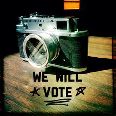 We will Vote!