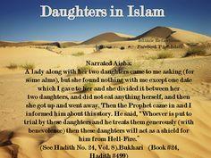 Daughters in Islam. Honor for Women in Islam.