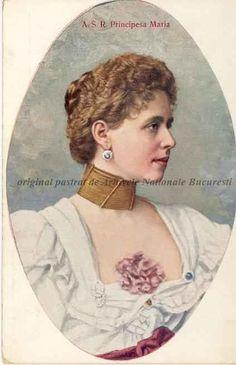 BU-F-01073-5-02308-1 Regina Maria a României, Principesă a României, Principesă de Edinburg și de Saxa Coburg și Gotha, născută Marie Alexandra Victoria, din Casa de Saxa-Coburg și Gotha (n. 29 octombrie 1875, Eastwell Park, Kent, Anglia — d. 18 iulie 1938, Sinaia), s. d. (sine dato) (niv.Document