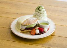 エッグスン限定パンケーキ柚子クリームと宇治抹茶が極上の和を演出店舗のみで限定提供