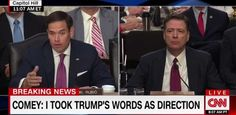 WATCH: After Endless Leaks, Rubio Asks Comey Why This ONE THING About Trump Wasn't Leaked