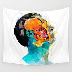 Anatomy [Ellis+Ford] Wall Tapestry