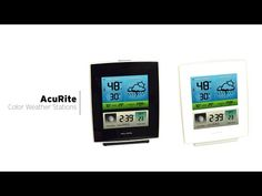 AcuRite Color Weather Stations 02030RM / 02031RM - YouTube