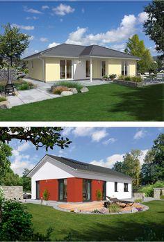 Welcher #Bungalow gefällt Euch besser: der klassische #Winkelbungalow oder unser neuer #Bungalow100?  Mehr Infos zu den Häusern: http://www.hausausstellung.de/bungalow-bauen.html