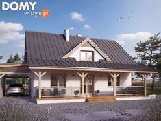 House with Wrap Around Porch for Sale . House with Wrap Around Porch for Sale . Porch House Plans, House With Porch, Country House Plans, Country Style Homes, Wicker Porch Furniture, Outdoor Wood Furnace, Backyard Cottage, Modern Farmhouse Plans, Patio Makeover
