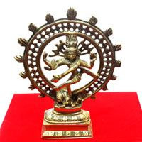 Natraj in Brass