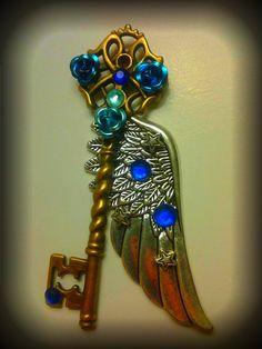 Mystic Sky Fantasy Key by Starl33na.deviantart.com on @deviantART