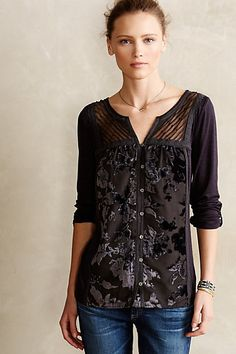 Tavia Peasant Top anthropologie.com #anthrofave