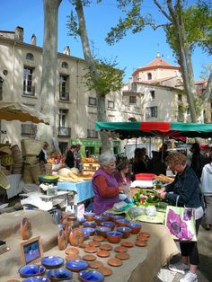 Ceret Market France.
