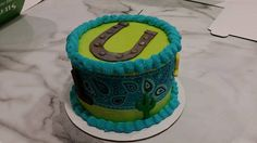The Wynonna Judd inspired cake we made for @ksdknews Heidi Glaus! (We got the idea from her pal Julie Tristan!)