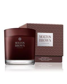 C1UPN Molton Brown Black Peppercorn Three Wick Candle, 16.9 oz.