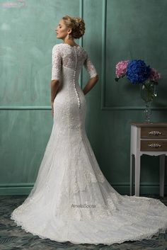 This dress makes me want to get married again!  To the same of course :)