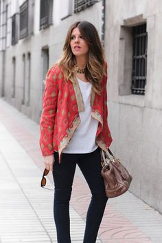 #tribaltrend Check my lastest blog about #streetstyle in the city of #Madrid. Looots of images to pin ;)