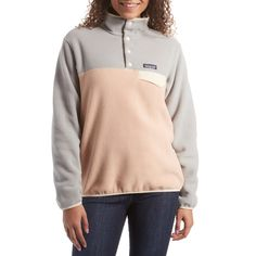 Women's Patagonia Lightweight Synchilla Snap-T Pullover Fleece 2019 - Large Brown Patagonia Outfit, Patagonia Pullover, Patagonia Synchilla, Southern Marsh, Southern Tide, Southern Prep, Patagonia Brand, Cute Comfy Outfits, Fleece Sweater