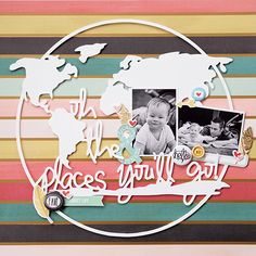 A Flair For Buttons & The Cut Shoppe Blog Hop project by Els Brigé