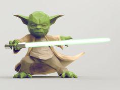 Yoda by Jona Dinges