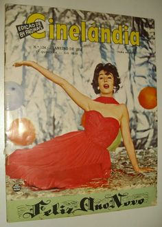 Revista Cinema Filmes Propaganda Antiga Anos 50 Cinelandia - R$ 25,00 no MercadoLivre