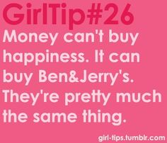 Girl Tips i love this:p Crazy Things, Girly Things, Love Quotes, Funny Quotes, Inspirational Quotes, Handy Tips, Helpful Tips, Girl Code Book, Money Cant Buy Happiness