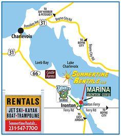 Summertime Rentals | Boat Rental | Lake Charlevoix | Northern Michigan