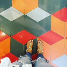 Climb Every Mountain Ford Every Stream Follow Every Rainbow 'Till You Find Your Dream. #ihaveathingwithfloors#ihavethisthingwithtiles#ihavethisthingwithfloors#igers#instagood#saturday#carrelage#design#fromwhereistand#feet#floors#geometric#jj#lookyfeets#lookingdown#pattern#perspective#summer#sandals#sambagsydney#shoefie#selfeet#tiles#tileaddiction#viewfromthetop by singaporegypsy