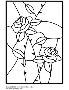 ★ Stained Glass Patterns for FREE ★ glass pattern 721 ★