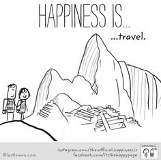~Happiness is Traveling~
