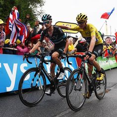 Tour de France 2016 Stage 19 Chris Froome Wout Poels