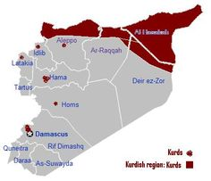 Current major ethnic groups in Syria.