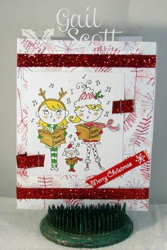 Christmas Stampin' All Year Long  challenge #8 - Gail