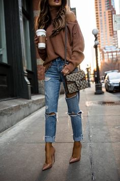 trendy autumn street style outfits for this year - fall outfits 21 Look Fashion, Urban Fashion, Winter Fashion, Fashion Outfits, Womens Fashion, Fashion Trends, Travel Outfits, Fast Fashion, Europe Fashion