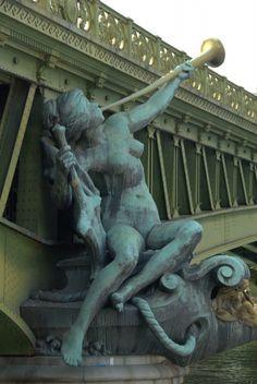 Pont  Mirabeau, Alain Roy