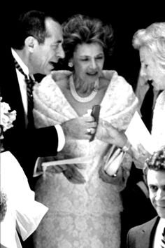 Mario and Matilda Cuomo with Ethel Kennedy