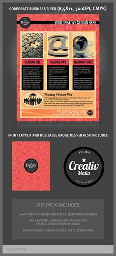 Great corporate flyer templates