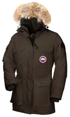 Canada Goose Expedition Parka Brown Womens