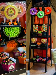 Halloween Candy Station Ideas