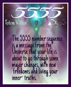 """Numerology: Angel Number 5555 Meaning 