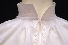 Nordmøre tellesømskjorte Old And New, Norway, White Dress, Ruffle Blouse, Textiles, Costumes, Model, Clothes, Tops
