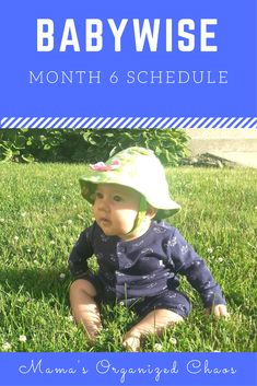 Babywise baby schedule month 6 How and as to teach the 6 Month Sleep Schedule, Twins Schedule, Toddler Schedule, Baby Wise, Sleep Training Methods, 6 Month Old Baby, Baby Sleep, Kids Sleep, Parenting Hacks