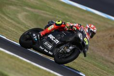 Andrea Iannone, Ducati Team, Phillip Island Test