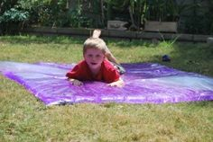 Giant Sensory Bag! Cost only $4 to make- Familylicious