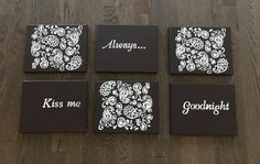 Hey, I found this really awesome Etsy listing at https://www.etsy.com/ca/listing/481642965/always-kiss-me-goodnight