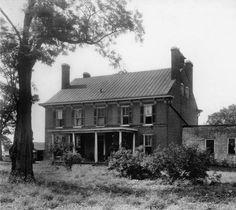 Locust Grove, Louisville, Kentucky, 1922. :: Caufield & Shook Collection