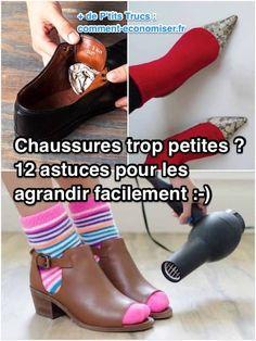 a3bcc23bb2107 Chaussures Trop Petites   12 Astuces Pour Les Agrandir FACILEMENT.