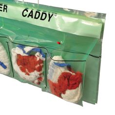 #SpongeCounter #Caddy Sponge Counter Caddy provides a sterile, convenient method to keep track of surgical sponges in an Operating Room environment. It can be mounted from an existing rack or taped to the back table drape for easy access, saving labor and effort. Custom bags can be stylish and a nice choice for anyone looking to upgrade their business. #mailers #security #liners #resealable