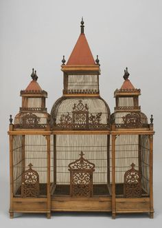 Large Turn of the Century French Birdcage For Sale at 1stdibs