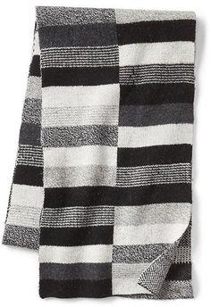 Gap Crazy stripe block scarf