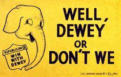 Franklin D. Roosevelt vs. Thomas E. Dewey (1944)